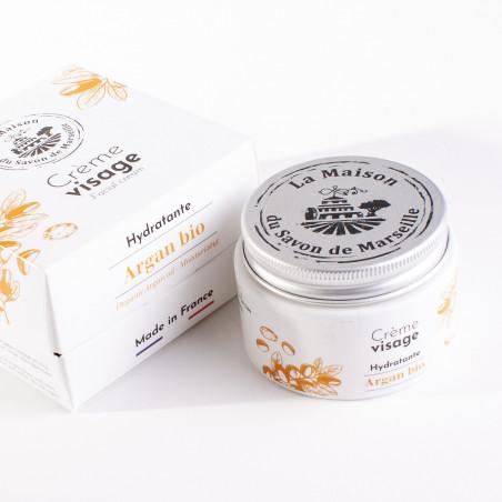 Crème Visage de jour - Pot de 50ml - HUILE D'ARGAN Bio