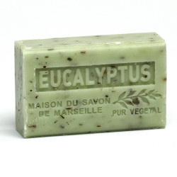 Savon 125gr au beurre de karité bio- EUCALYPTUS