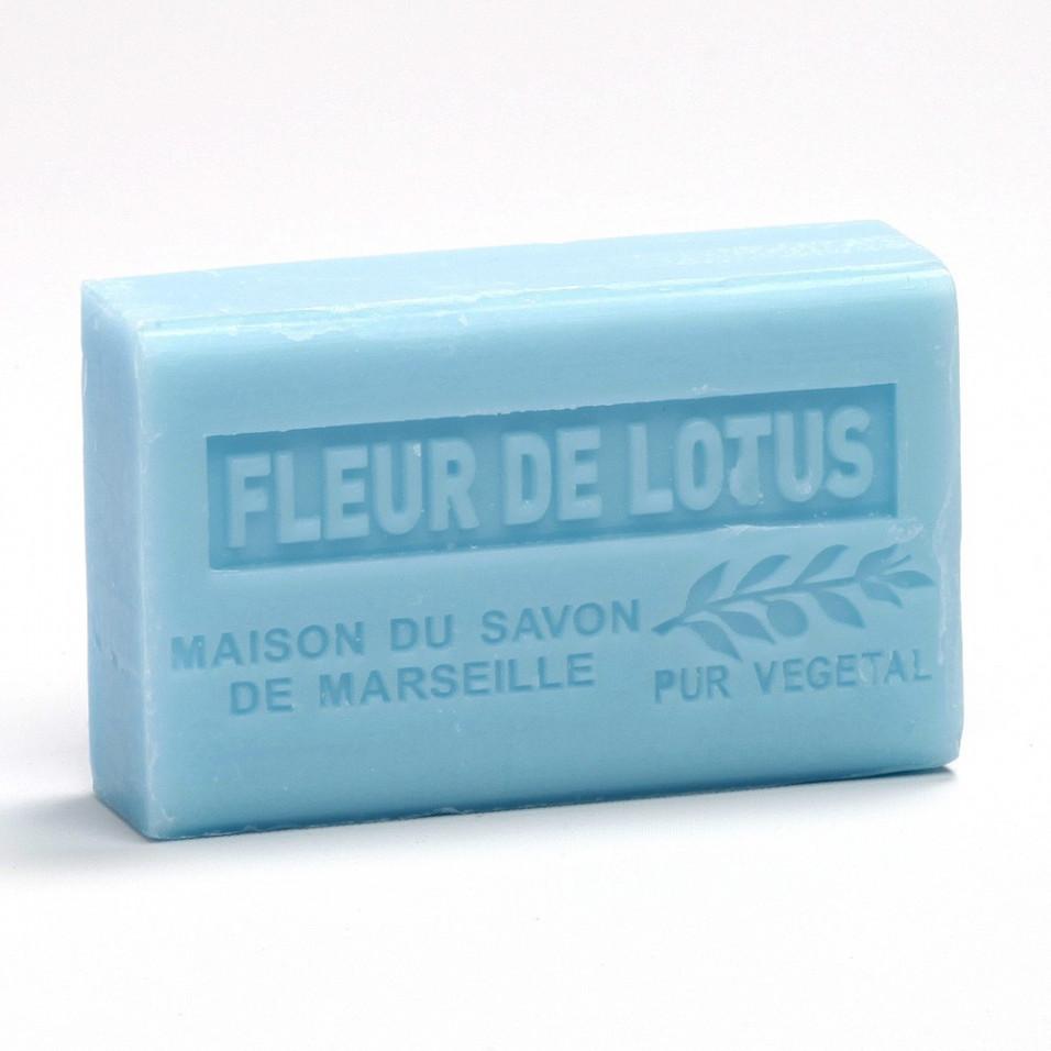 Savon 125gr au beurre de karité bio- FLEUR DE LOTUS