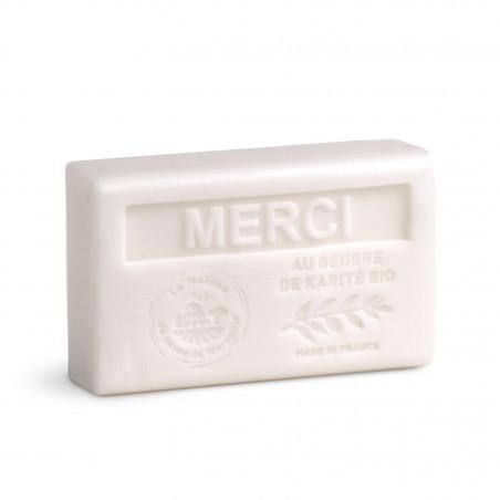 Savon 125gr au beurre de karité bio- MERCI