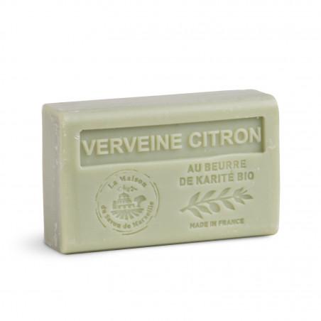 Savon 125gr au beurre de karité bio- CITRON VERVEINE