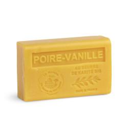 Savon 125gr au beurre de karité bio- POIRE-VANILLE