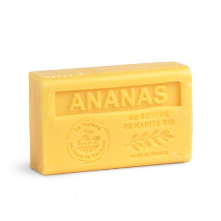 Savon 125gr au beurre de karité bio- ANANAS