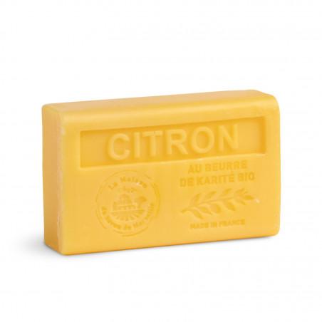 Savon 125gr au beurre de karité bio- CITRON