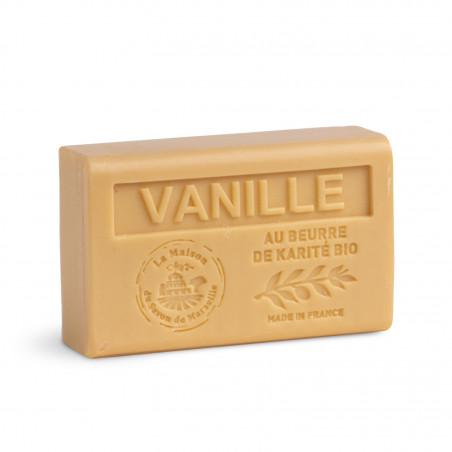 Savon 125gr au beurre de karité bio- VANILLE