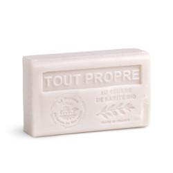 Savon 125gr au beurre de karité bio- TOUT PROPRE
