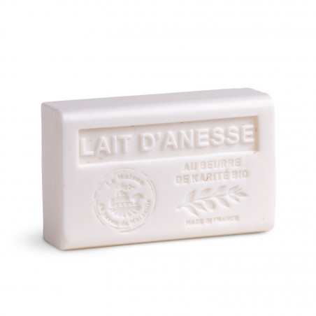 Savon 125gr au beurre de karité bio- LAIT D'ANESSE