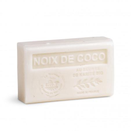 Savon 125gr au beurre de karité bio- NOIX DE COCO