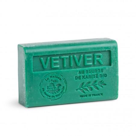 Savon 125gr au beurre de karité bio- VETIVER