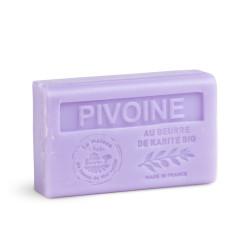Savon 125gr au beurre de karité bio- PIVOINE