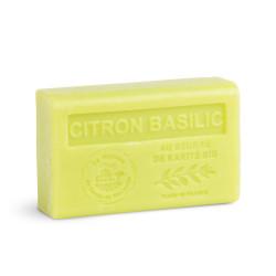 Savon 125gr au beurre de karité bio- CITRON BASILIC