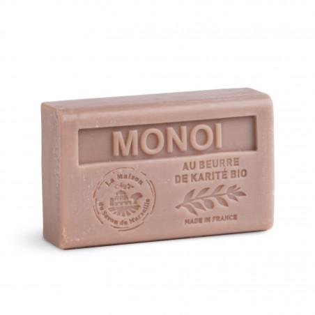 Savon 125gr au beurre de karité bio- MONOI