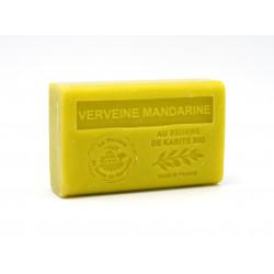 Savon 125gr au beurre de karité bio- VERVEINE MANDARINE