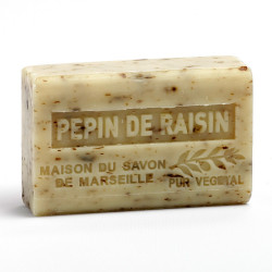 Savon 125gr au beurre de karité bio- PEPIN DE RAISIN