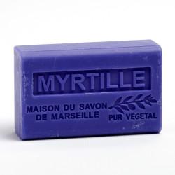 Savon 125gr au beurre de karité bio- MYRTILLE
