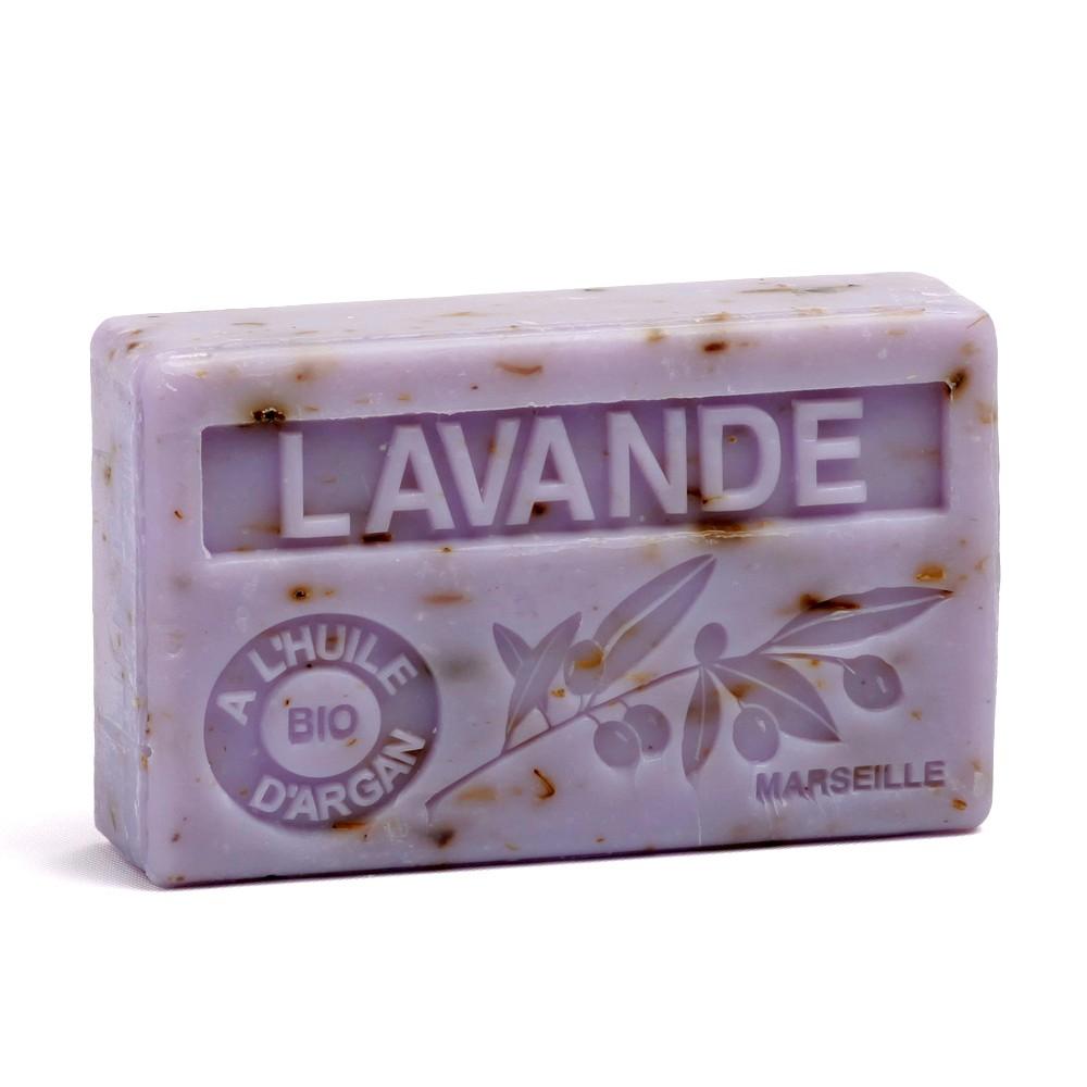 Vertu De La Lavande savon 100gr huile d'argan bio - lavande broyee