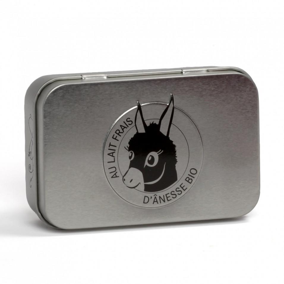 Boîte savon métal - Cube de Marseille embossé