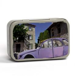 Boîte savon métal - Citroën 2CV