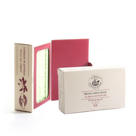 Boîte luxe carton pour savon 125gr, ivoire