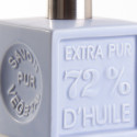 Distributeur 'Cube' céramique - Bleu clair