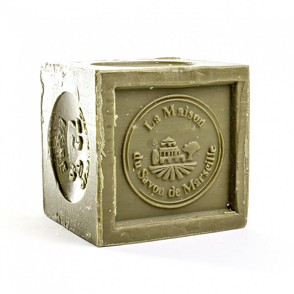 Savon de Marseille - Cube 600gr 72% Huile d'Olive